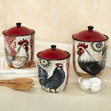 rooster canisters kitchen products 314 best cool kitchen canisters images on kitchen