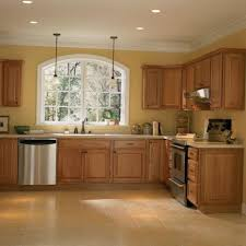 hickory kitchen cabinets home depot hampton bay 91 5x2x2 in crown molding in natural hickory kamc5 in