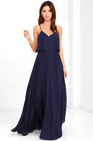 navy maxi dress stunning navy blue dress maxi dress gown 78 00