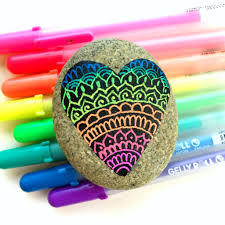 Colored Rocks For Garden by Tips And Tools For Drawing On Rocks U2022 Color Made Happy