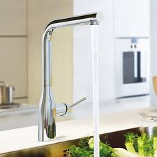 Grohe Essence Kitchen Faucet Grohe Essence Kitchen Mixer With Retractable Dual Rinsing Spray