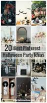 the best halloween party ideas 20 best pinterest halloween party ideas hallstrom home