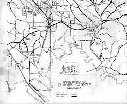 Austin County Map by Elmore County Alabama Algenweb Elmore County Maps