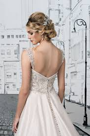 detachable wedding dress straps style 8883ds beaded illusion detachable straps justin