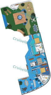 norwegian dawn cabins and suites cruisemapper