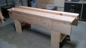 my first workbench woodnerd