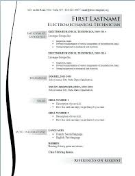 Resumes For Electricians Electrician Resume Objective Lukex Co