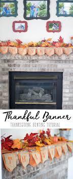 thankful banner thanksgiving bunting sew savory