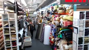 mood fabric store at west 37th st manhattan new york youtube
