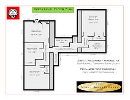 walton house floor plan penn walton homestead bucks county for sale 2360 e rock road