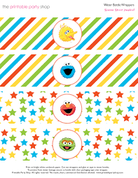 kids printable pictures of sesame street characters at set animal