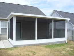 outdoor aluminum patio covers kits screened porch kits netted
