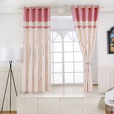 1 panel short curtains window decoration modern kitchen drapes