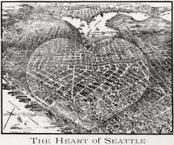 Seattle Map by Seattle Map 11 U2013 Heart Of Seattle Geologywriter Com