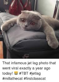 Jet Lag Meme - that infamous jet lag photo that went viral exactly a year ago