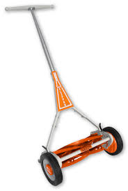 usa amish made hand push adjustable reel lawn mowers