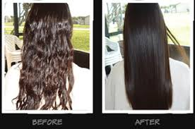 keratin treatment on black hair before and after hair smoothing theaology salon day spa