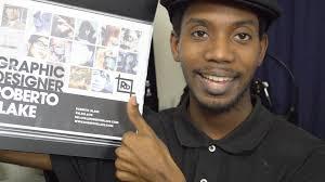 how to design your print portfolio graphic design youtube