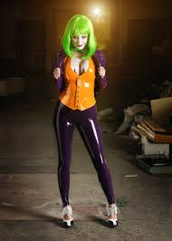 Female Joker Halloween Costume by Dc Latex Joker Sml E1377419733589 Jpg 929 1300 Cosplay
