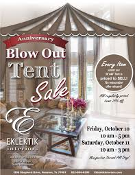 Houston Interior Designers by Eklektik Interiors Anniversary Sale