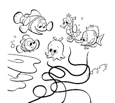 printable finding nemo coloring pages coloring