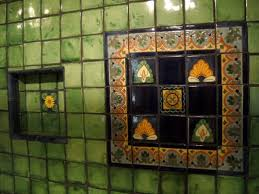 mexican tile bathroom designs bathrooms cabinets