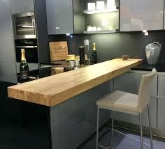 comment faire un bar de cuisine table bar plan de travail cuisine ilot plan de travail avignon