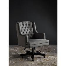 linen desk chair safavieh nichols granite linen office chair mcr4211a the home depot