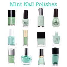mint green nail polishes mint green pastel tiffany blue opi