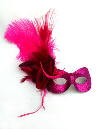 pink masquerade masks women s pink feather masquerade eye mask