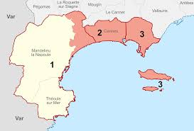 Cannes Map by File Cantons De Cannes Svg Wikimedia Commons