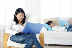 Small Home Business Ideas For Moms - when working from home works for or against you careerbuilder
