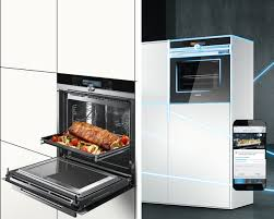 cuisine high tech un four high tech contemporain cuisine par siemens