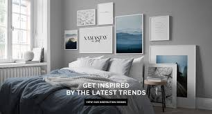 Interior Frames Wall Art With Scandinavian Design Art Pictures From Desenio Com