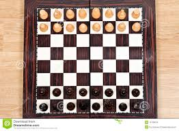 chess table stock images image 18198034