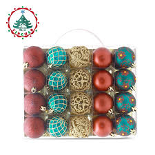 inhoo 6cm tree decorations balls ornaments pendant 20pcs