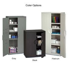 suncast wall storage cabinet platinum 35 resin storage cabinets furniture white and green plastic garage