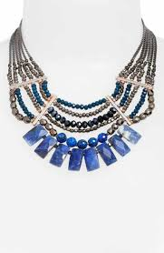 necklace with pink stone images Statement necklaces for women nordstrom jpg