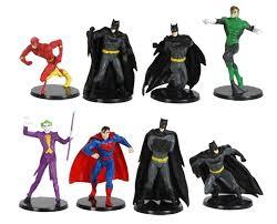 dc comics miniature figurine set includes batman