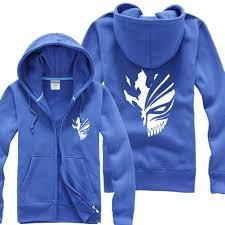 fashion ichigo hoodie bleach ichigo kurosaki cosplay hoodie