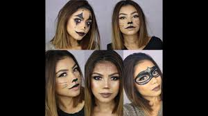 4 easy last minute halloween makeup looks halloween 2016 youtube