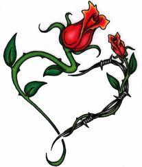 vine heart tattoo by tigresstenshi on deviantart