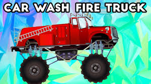 video truck monster fire truck monster truck car wash monster truck kids video