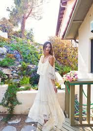 hippie boho wedding dresses 21 bohemian wedding dress for a free spirited everafterguide