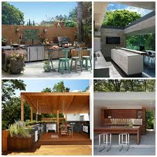 cuisine ext駻ieure design cuisine extérieure moderne idées et astuces design