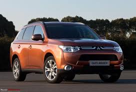 the 2013 mitsubishi outlander revealed team bhp