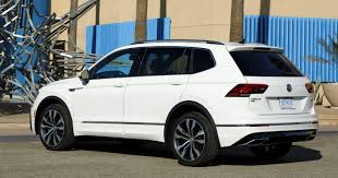 volkswagen tiguan 2018 interior 2018 volkswagen tiguan suv to get r line treatment roadshow