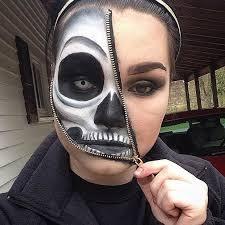 Deer Head Halloween Costume 25 Zipper Face Costume Ideas Zip Face Zipper