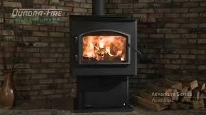 quadra fire adventure series wood stove video youtube