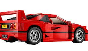 lego ferrari 458 lego has just revealed a ferrari f40 kit and it looks fantastic